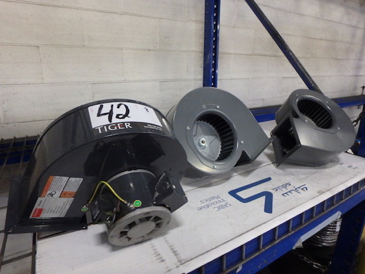 Lot 42 - Dayton 1/2 HP Blowers (Asset Location: Warehouse), (Site Location: Thorndale, PA)