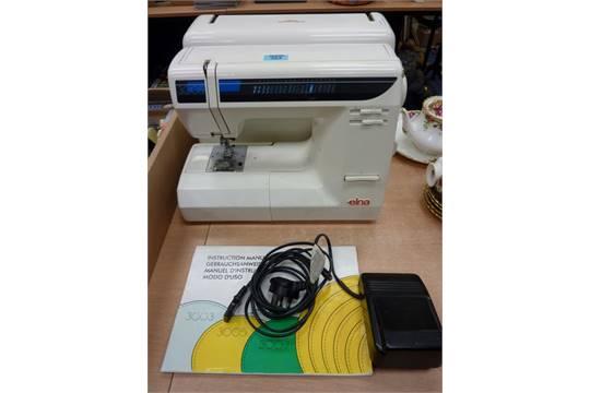 Elna 40 Electric Sewing Machine Stunning Elna 3005 Sewing Machine
