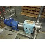 Waukesha pump, Model: 220, S/N: 385526 05, w/ 10 HP motor  Rigging Fee: $30