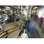 Arrowhead Conveyor Company, Table Top Conveyor, approx. 12ft l x 7 1/2in belt x 44in tall No belt