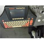 Marsh Ink Jet Coder, Model: Patrion Plus  Rigging Fee: $150