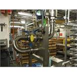 S.S. Transfer Station and valves, w/ Rosemount Flow-meter  Rigging Fee: $150