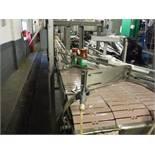 S.S. Table Top Conveyor 36ft l x 7 1/2in w x 45in tall no belt  Rigging Fee: $300