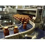 Discharge conveyor, 12ft x 21in x 41in tall, w/ 1 HP Baldor motor no belt  Rigging Fee: $250
