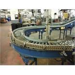 Versa Power Roller Conveyor, 30ft x 12in rollers, (1) 90 degree turn  Rigging Fee: $300