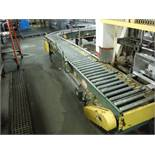 Hytrol Power Roller Conveyor, approx. 40ft l x 16in w x 24in tall  Rigging Fee: $300