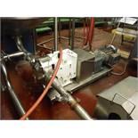 AMPCO pump, Model: RBZP1-220-DO*, S/N: CC-102870-1-1-R1-2, w/ 10 HP motor  Rigging Fee: $30