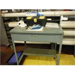 Shipping desk and Poly Cart  Rigging Fee: $0