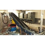 Versa Power Belt Conveyor, 120ft x 12in rollers  Rigging Fee: $500