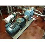 Waukesha pump, Model: 220U1, S/N: 385526, w/ 10 HP motor  Rigging Fee: $30