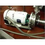 Tri-clover pump, w/ 7 1/2 HP Baldor motor  Rigging Fee: $30