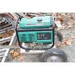 Powermate PM3000 Gas Generator on Cart