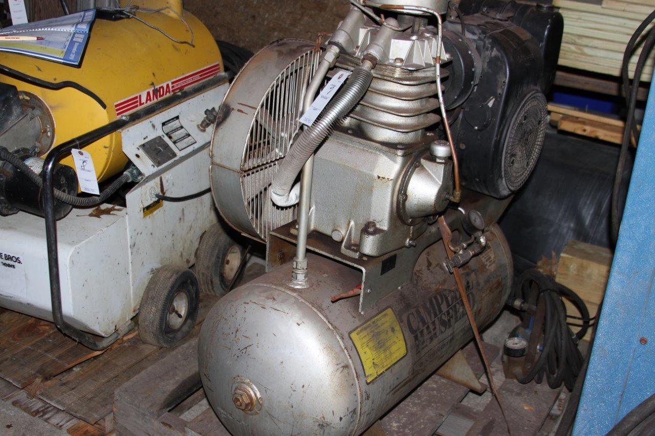 Lot 7 - Campbell Hausfeld Kohler Gas Powered Air Compressor