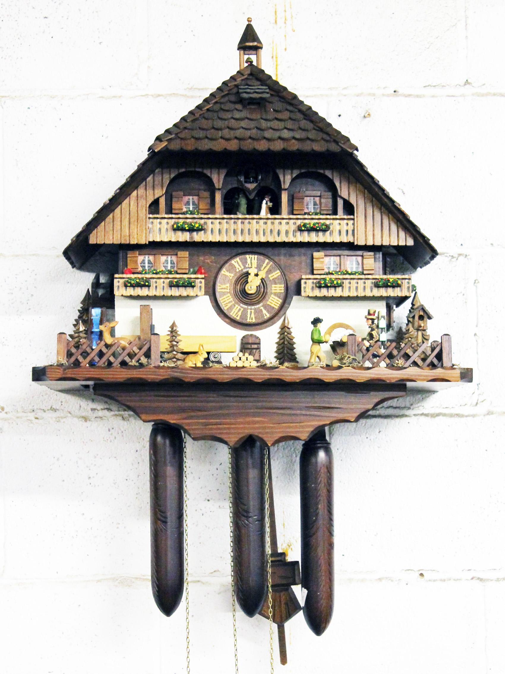 A contemporary german cuckoo clock - Contemporary cuckoo clock ...