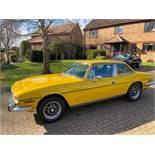 1976 Triumph Stag 3.0 Yellow