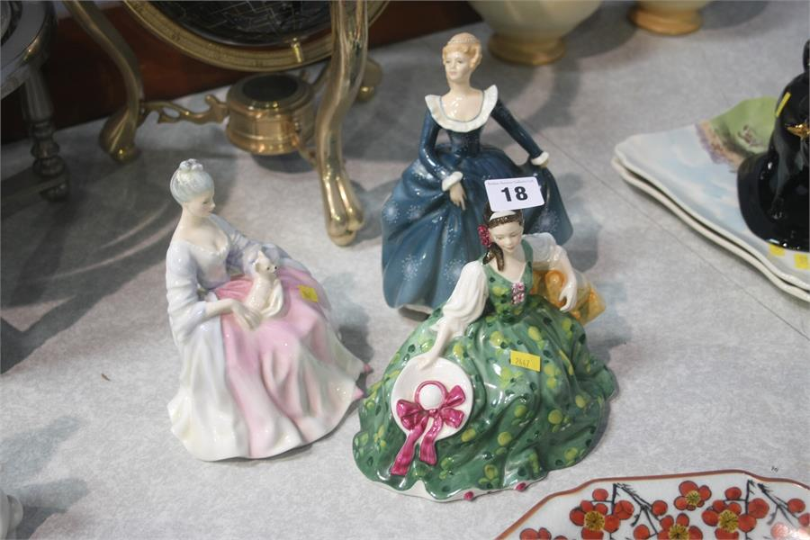 Lot 18 - Three Royal Doulton figures