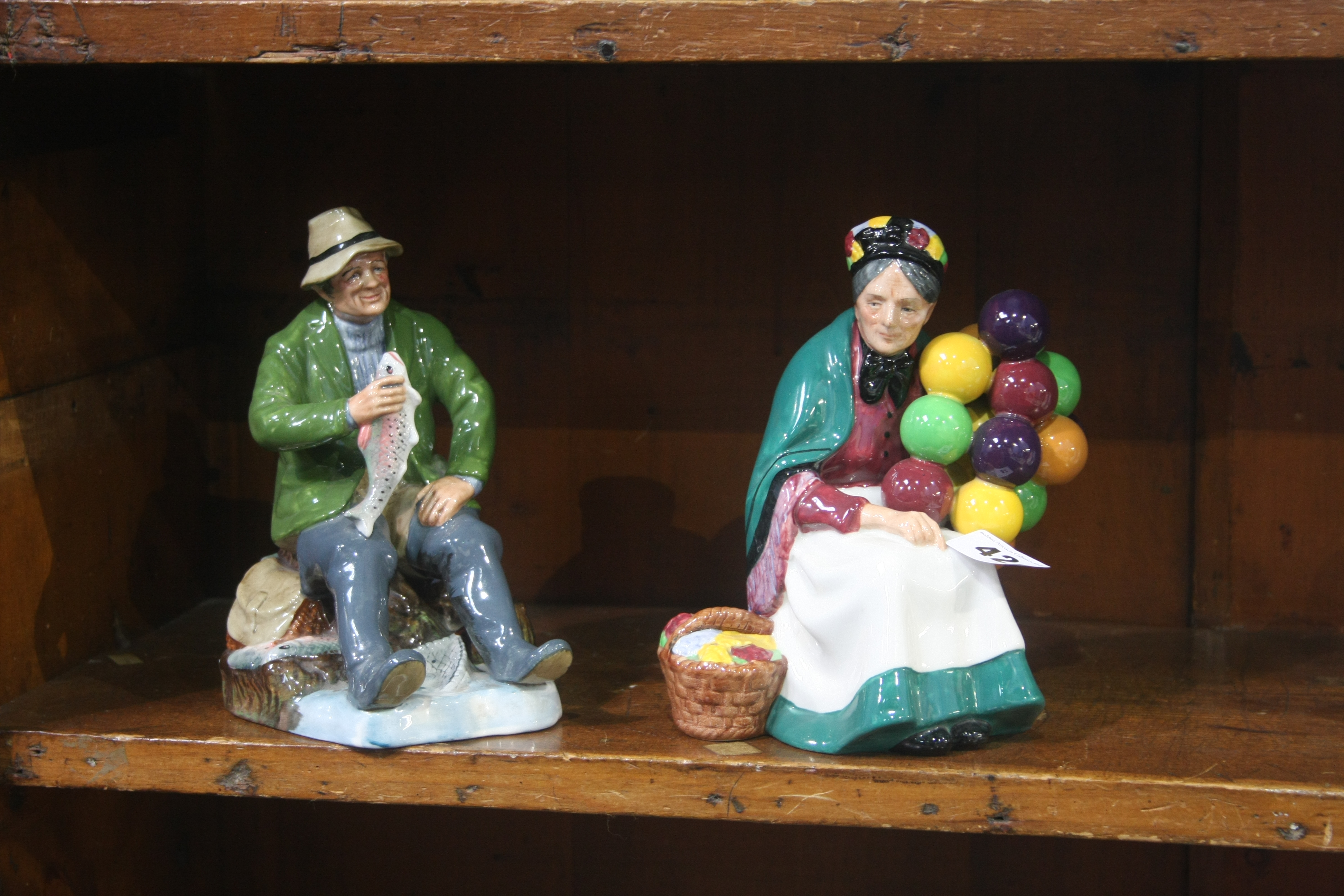 Lot 42 - Two Royal Doulton figures