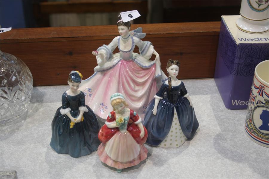 Lot 9 - Four various Royal Doulton figures