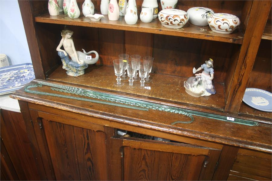 Lot 25 - Three 'End of Day' glass canes