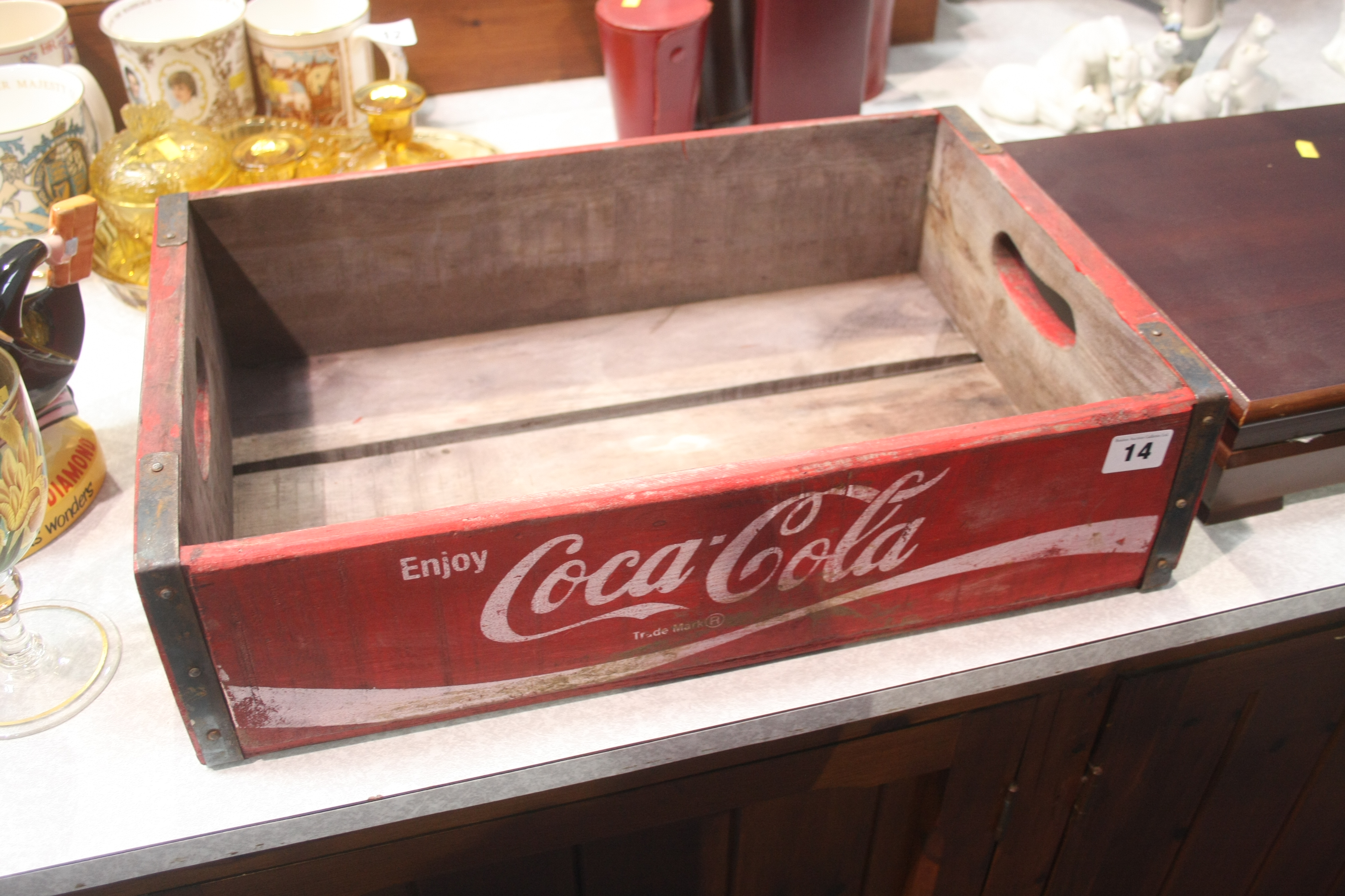 Lot 14 - A 'Coca Cola' tray