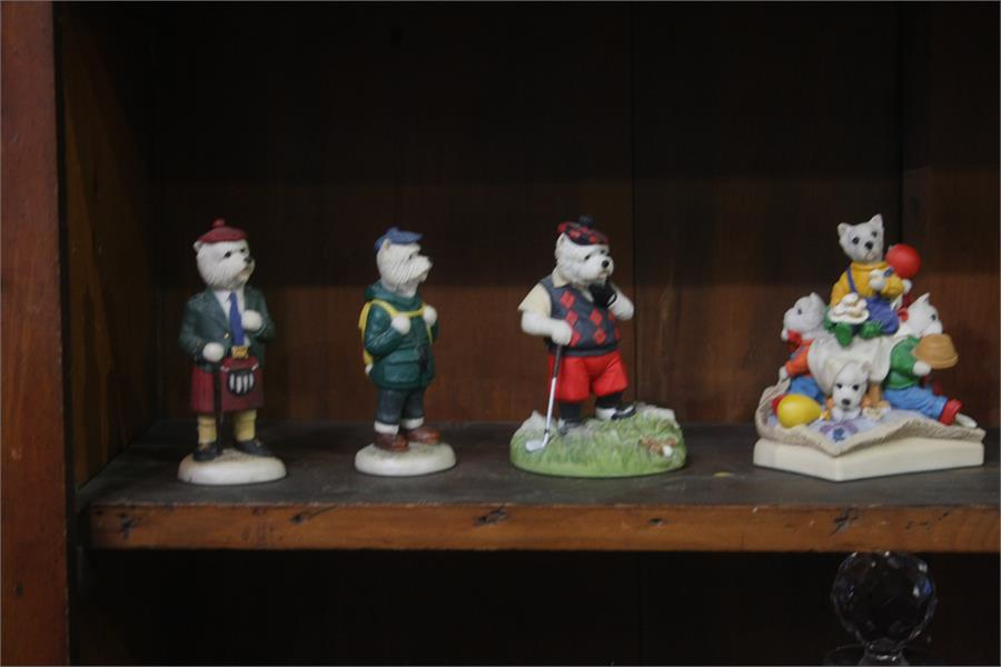 Lot 34 - Collection of 'Westies'
