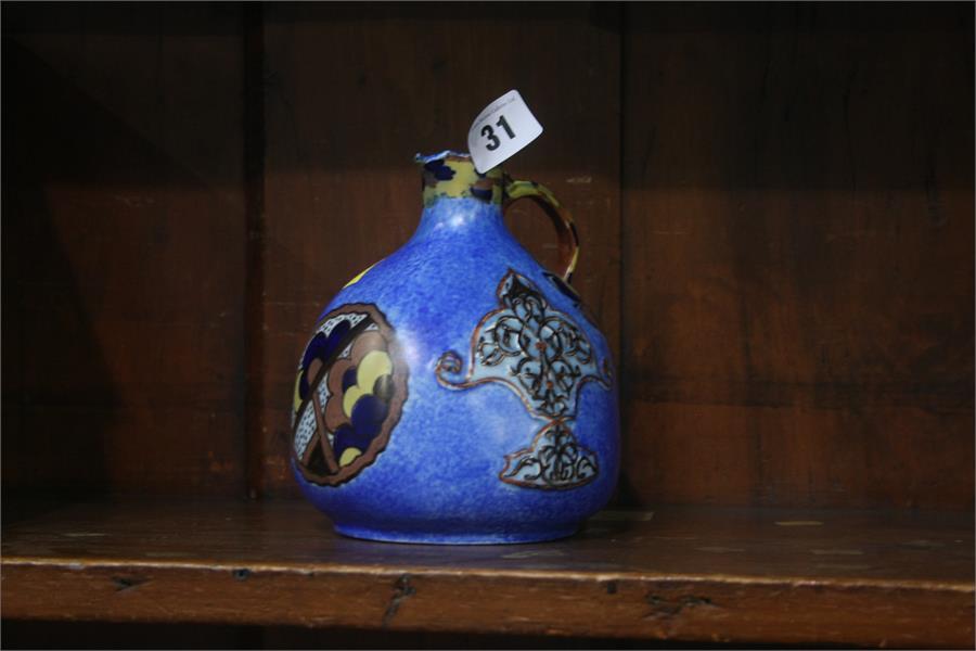 Lot 31 - George Clews Chameleon ware vase