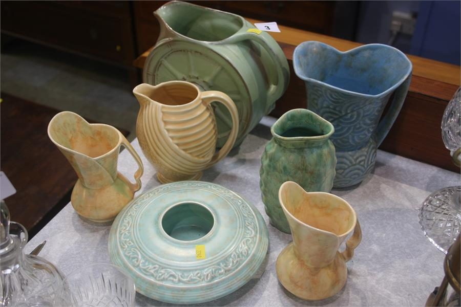 Lot 3 - Assorted pottery, Wade etc.