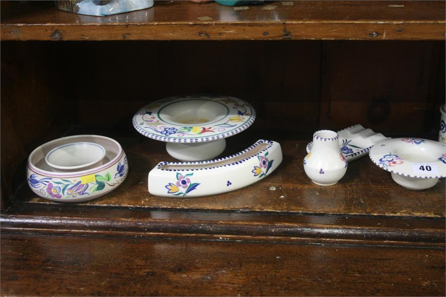 Lot 40 - Collection of Poole pottery