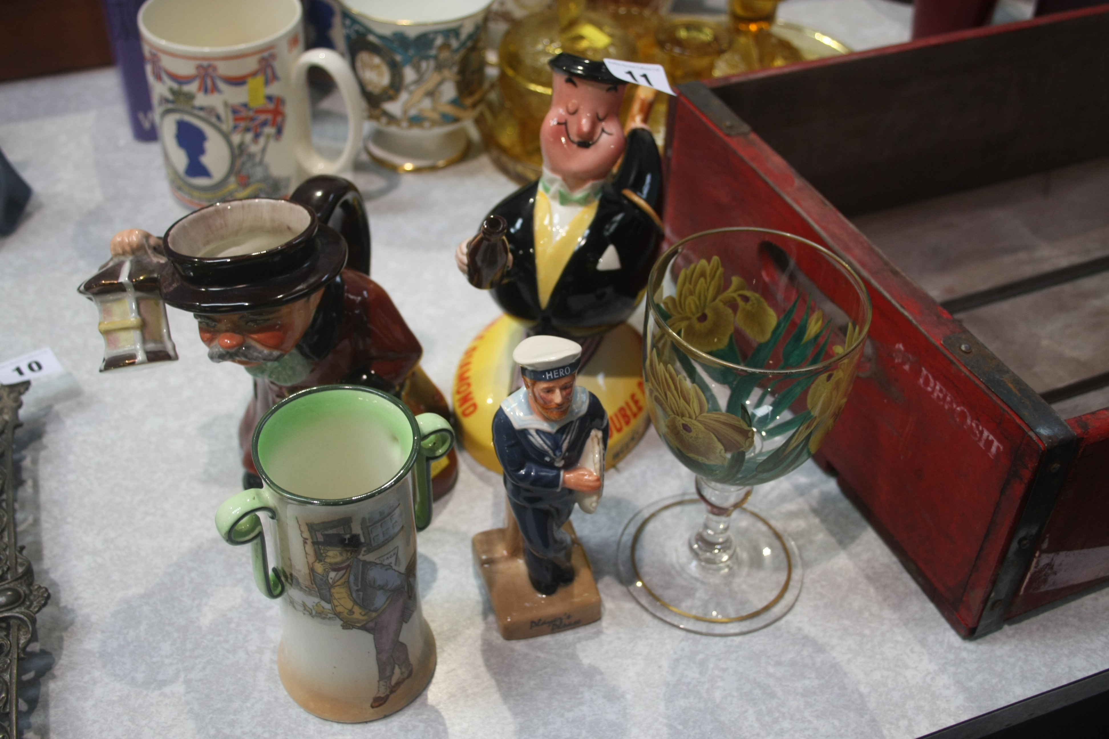 Lot 11 - Beswick 'Double Diamond' jug etc.