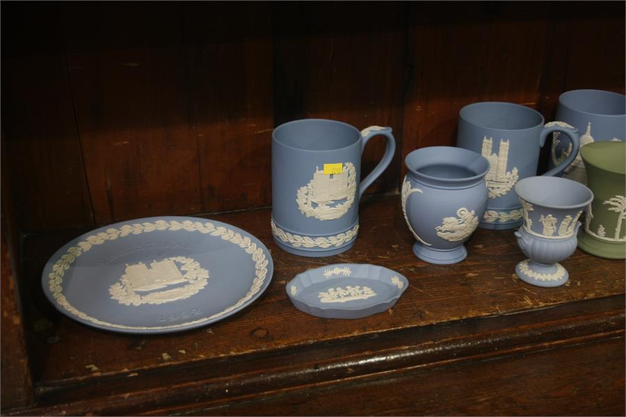 Lot 39 - Collection of Wedgwood Jasperware