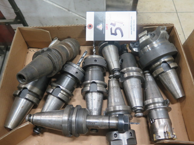 Lot 54 - BT-40 Taper Tooling (10)