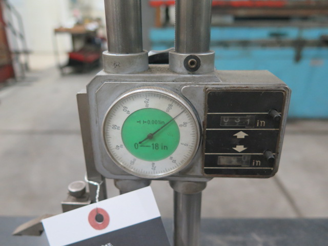 """Lot 37 - 18"""" Dial Height Gage"""