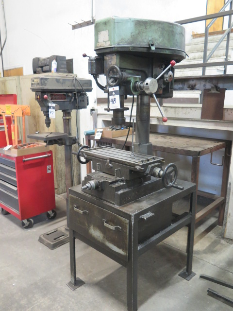 """Lot 48 - Jet 12-Speed Drilling and Milling Machine w/ 9 1/2"""" x 23 1/2"""" Table"""