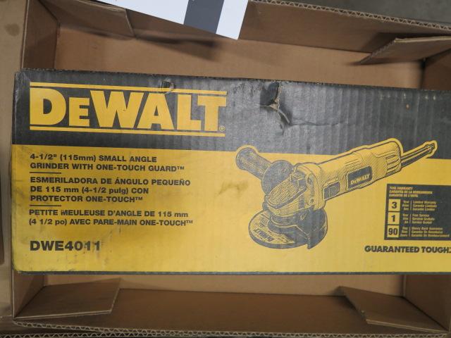 Lot 3 - DeWalt DWE4011 Angle Grinder (NEW)