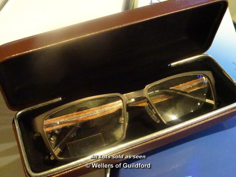 Eyeglass Frame Waiver : *CASED DAVIDOFF GLASSES FRAMES
