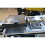250 LB. ELECTROSCALE MODEL LC-1818 BENCH PLATFORM SCALE WITH METTLER-TOLEDO ICS465 DIGITAL