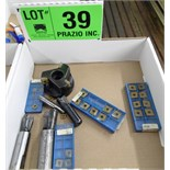 LOT/ CARBIDE INSERT CUTTING TOOLS WITH INSERTS