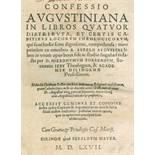 Augustinus,A.Augustinus,A. Confessio Augustiniana in libros quatuor distributa, et certAugu
