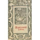 Breviarium.Breviarium. Spanisches Stundenbuch, enth. u.a. die Kapitel 'Manual de la docBrev