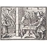 Bibelillustration.Bibelillustration. Album mit 23 Bl. Buchillustrationen meist aus BibeBibe
