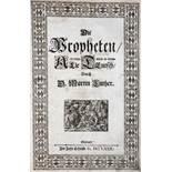 Biblia germanica.Biblia germanica. Biblia. Die Gantze Heilige Schrift Alten u. Newen TeBibl