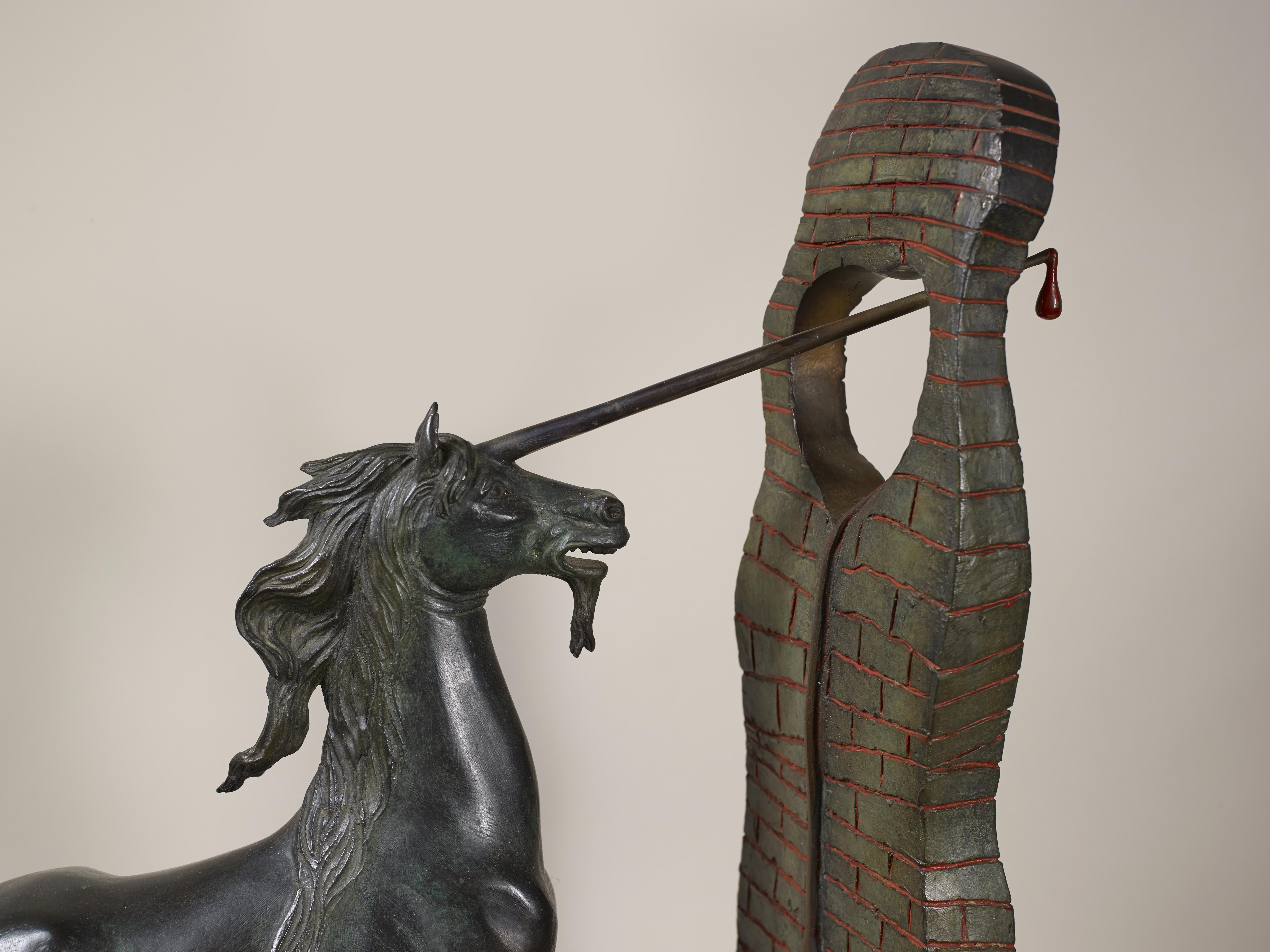 Lot 27 - Salvador DALI (1904-1989) - Unicorne, 1984 - Bronze signé et justifié- Fondeur [...]