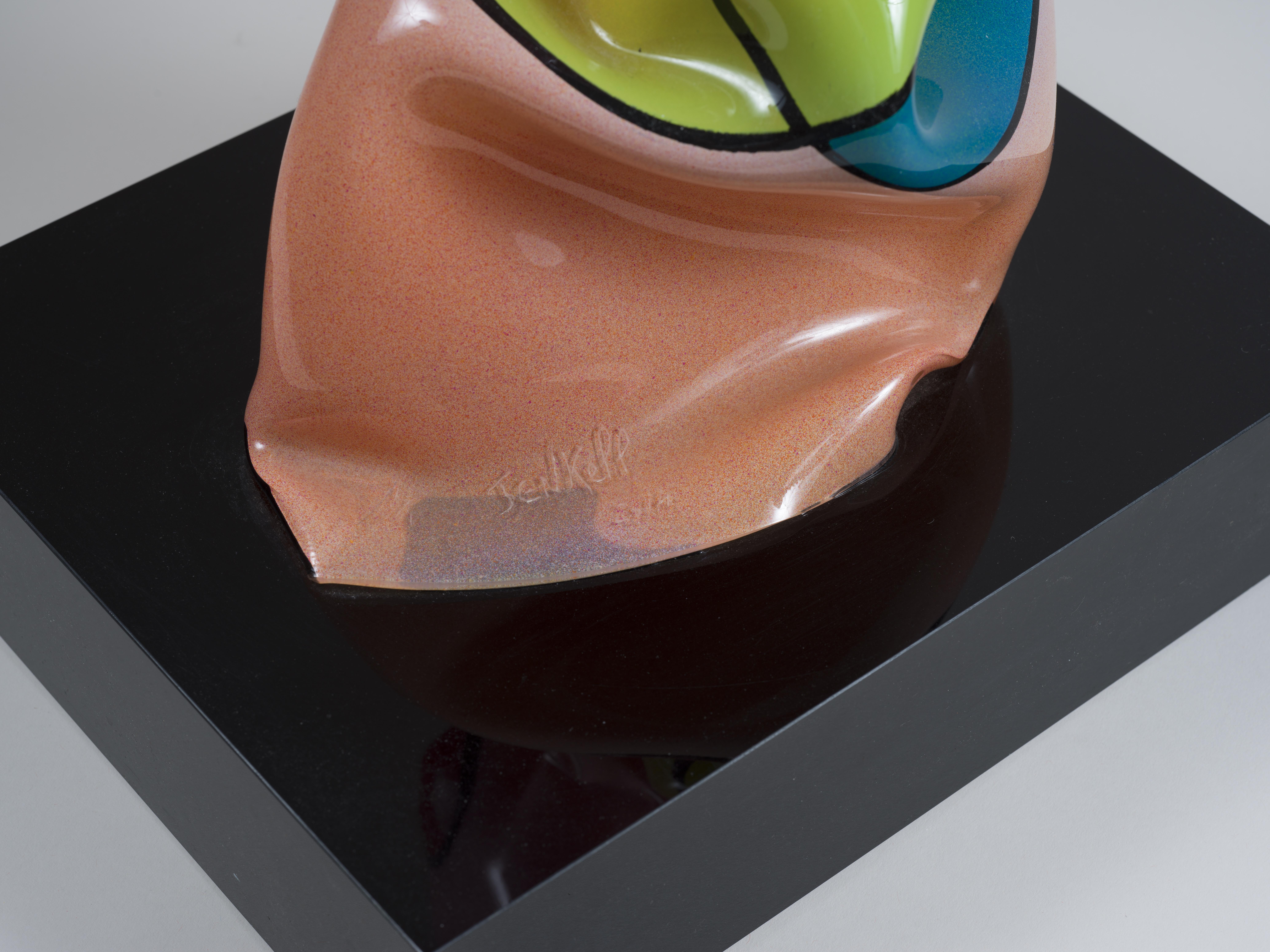 Lot 29 - Laurence JENKELL (1965) - Wrapping Bonbon Bagatelle, N°2314? 2014 - Plexiglas peint [...]
