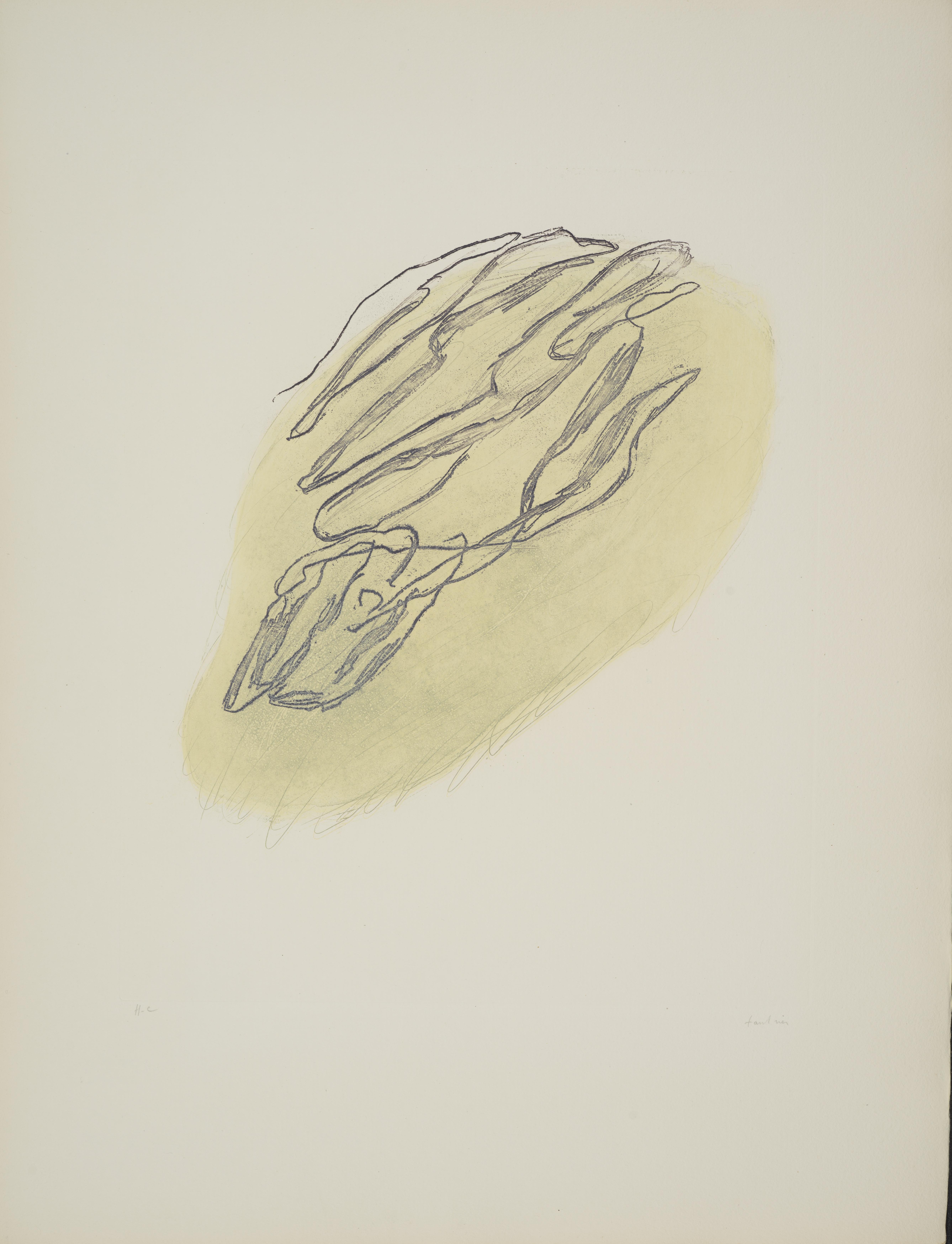 Lot 6 - Jean FAUTRIER (1898-1964) - Formes végétales, 1947 - Eau-forte et auquatinte en [...]