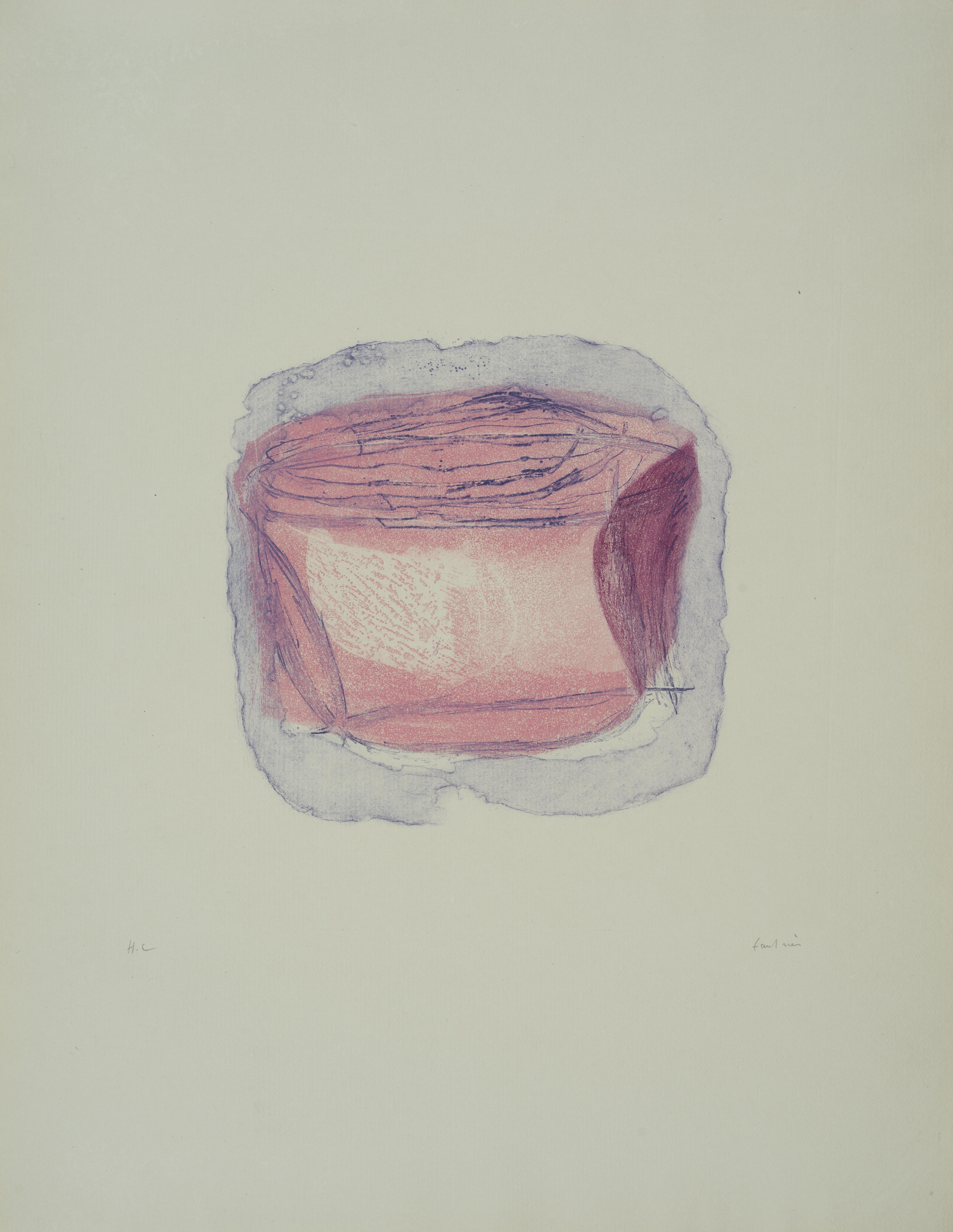 Lot 4 - Jean FAUTRIER (1898-1964) - Objet précieux - Eau forte lavis et aquatinte en [...]
