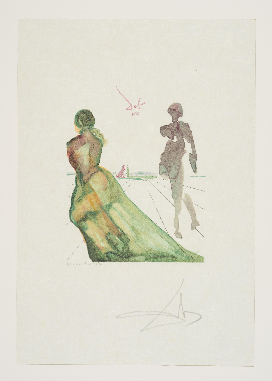 Lot 24 - Salvador DALI (1904-1989) Antica - Ensemble de treize lithographies dans un coffret [...]