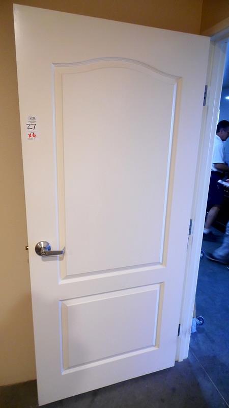 Lot 27 - WHITE DOORS