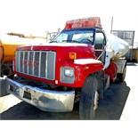 GMC WATER TRANSPORT TRUCK(NOT RUNNING)