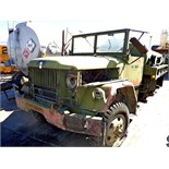 ARMY WATER TRANSPORT TRUCK