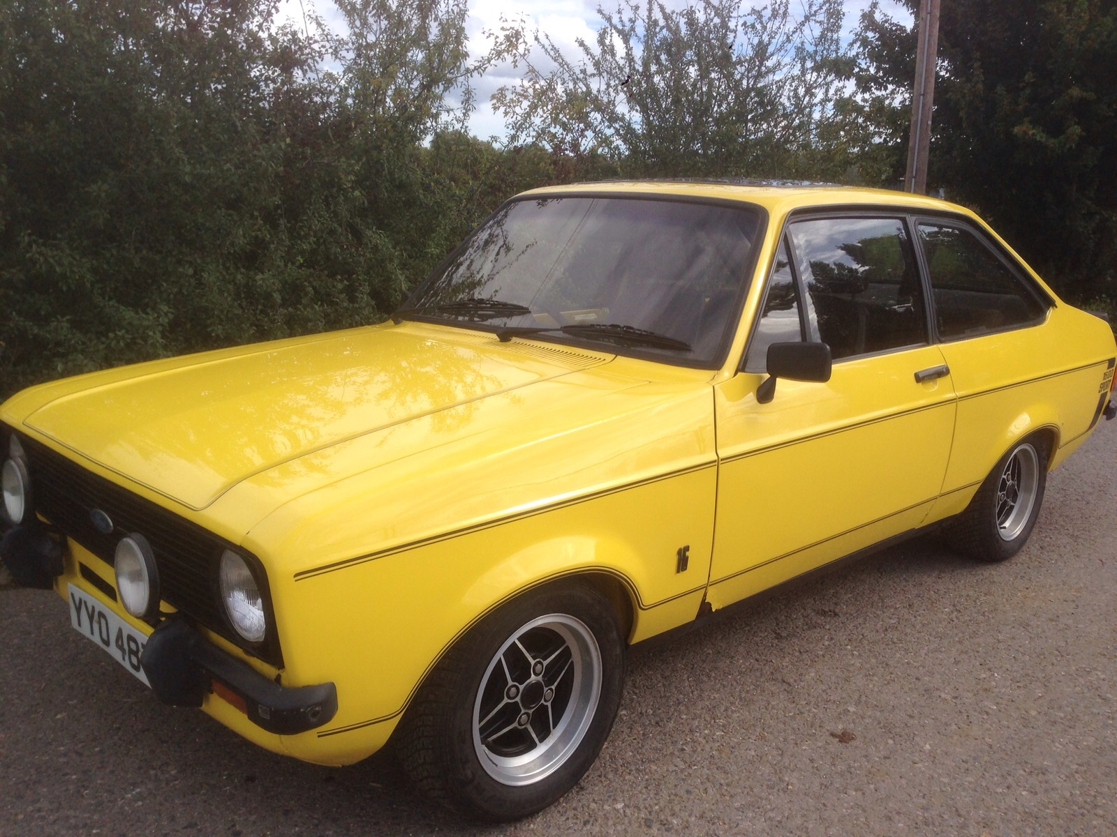 1979/T Ford Escort mk2 1600 Sport - in Signal yellow - (UK Car Not ...
